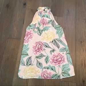 Forever 21 Floral halter dress size Small